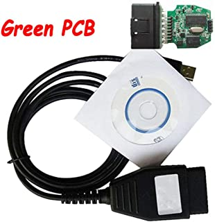 Hadeyicar The Best Green PCB Focom Diagnostic Program for Ford VCM OBD Automatic Diagnostic Cable for Automotive VCM OBD OBD2 Interface 1996~2010