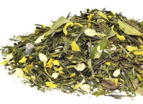 Gelber Tee - Gelber Drache - Mit lieblichen Pfirsich-Zitrusfrucht-Geschmack - 250 g von Quertee
