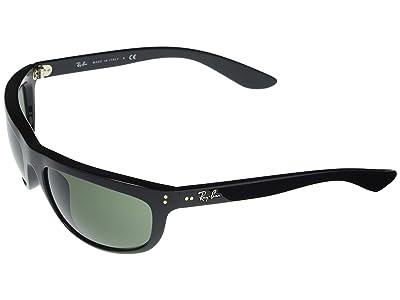 Ray-Ban RB4089 Balorama Rectangle Sunglasses 62 mm