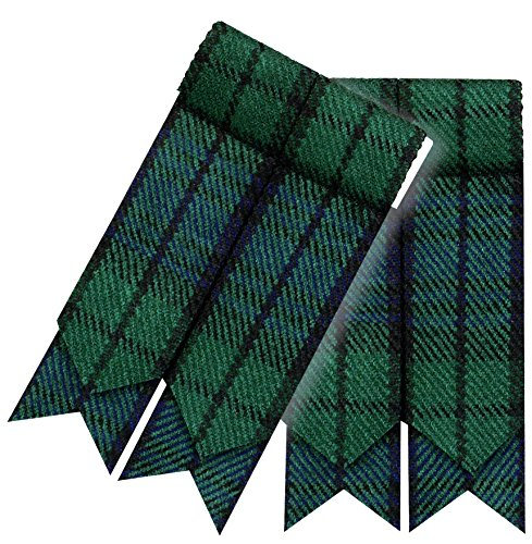 Herren Kilt Hose Socken Blitze Mit Strumpfhalter Highland kleid - Blackwatch