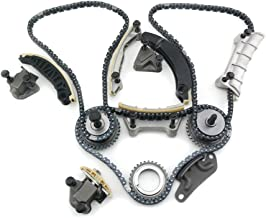 MOCA Timing Chain Kit for 2006-2017 Cadillac SRX STS CTS & Pontiac G6 G8 & Saturn Outlook VUE & Buick Enclave Suzuki GMC Chevrolet 3.6L V6 DOHC 24 B284 N36A
