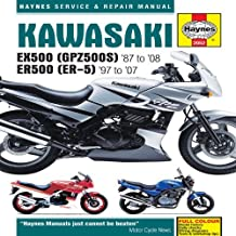 Kawasaki EX500 (GPZ500S) and ER500 (ER-5) Service and Repair Manual: EX500 1987 to 2008, ER500 1997 to 2007 (Haynes Service and Repair Manuals) by Alan Ahlstrand (25-May-2009) Hardcover