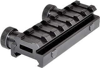 Sniper-Grunt Low Profile 7-Slot Picatinny Rail Riser Mount, 0.50