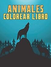 Animales Libro Colorear: 50 Diseños de Lobo de una cara Lobos Libro Colorear para Aliviar el Estrés para relajarse y alivi...