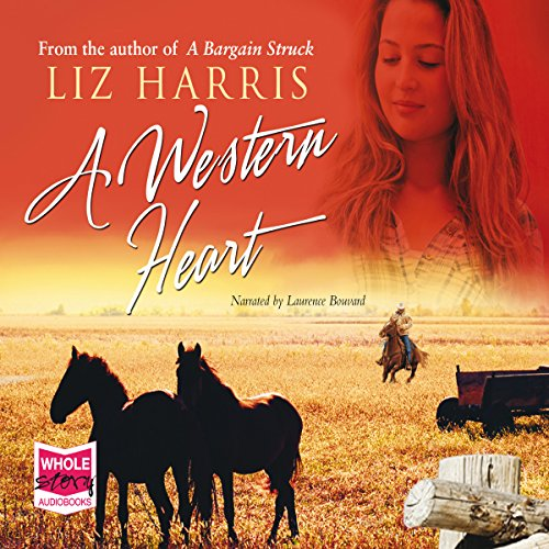 A Western Heart audiobook cover art