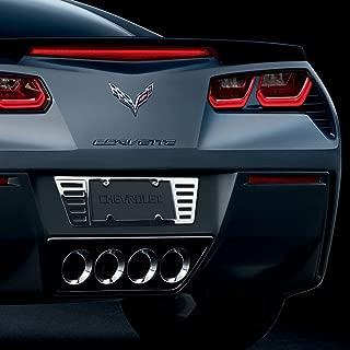 Hi-Tech Custom C7 Stingray Corvette Chrome Rear License Frame - CNC Machined Billet Premium