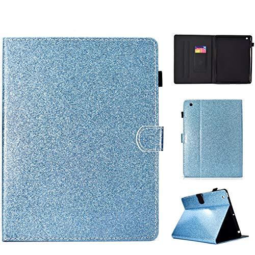 Uliking - Funda para iPad 4 y 3 (piel sintética, función atril, función atril), color #005_Blue