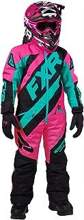 FXR Youth CX Monosuit 2020 (Electric Pink/Black/Mint - Size 16)
