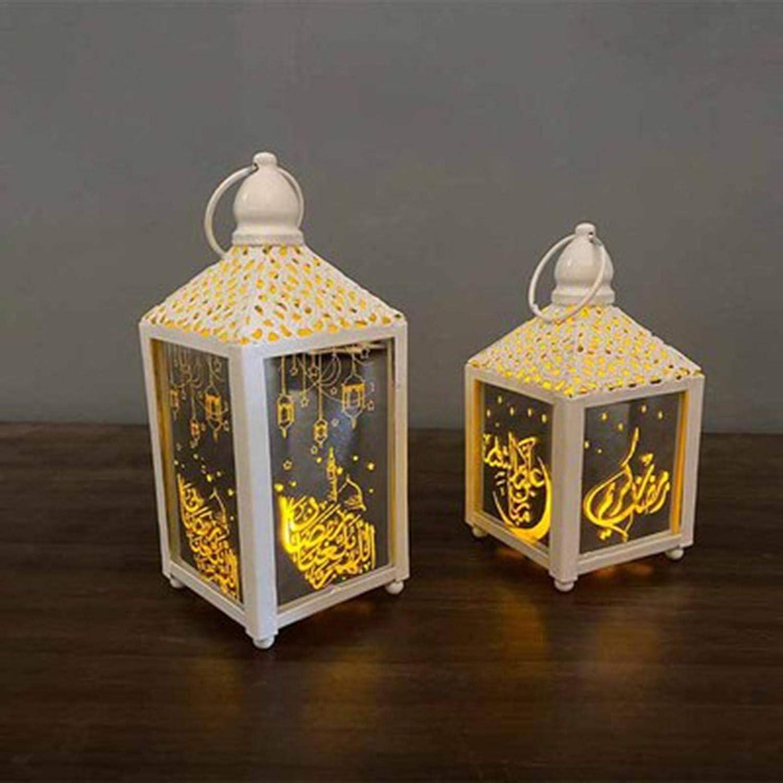 Xuanshengjia Ramadan Laterne Mit LED Vintage Stil Laterne F/ür Patio Drinnen Drau/ßen Veranstaltungen Partys Hochzeiten Indische Art Marokkanischen Stil Kerzenlaterne Dekorative Teelicht Kerzenhalter