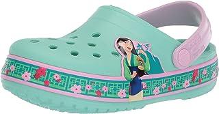 Crocs Unisex-Child 206155-3P7 Kid's Mulan Clog|Water Shoe for Toddlers, Boys, Girls|Slip on Sandal