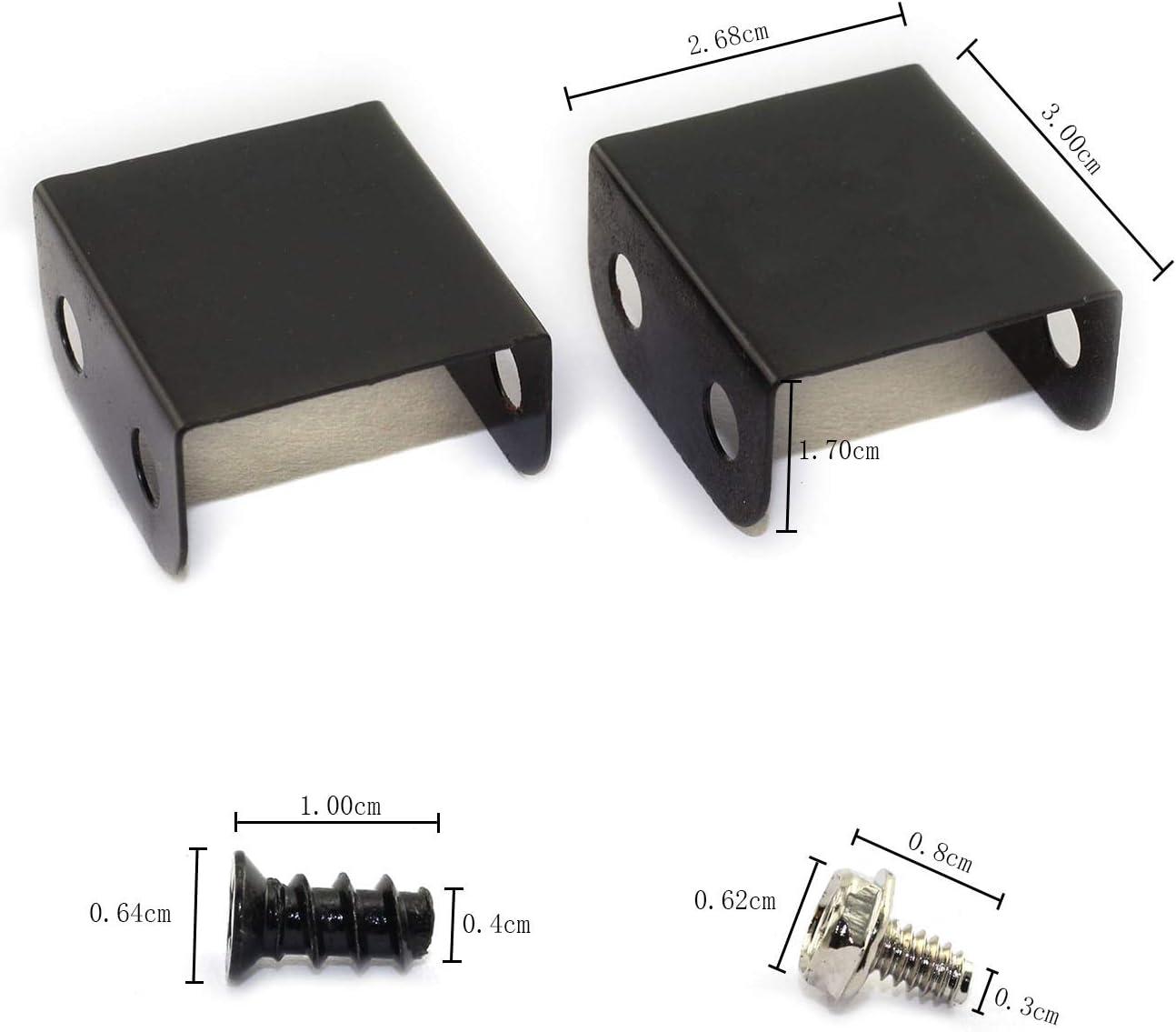 Maxmoral 1-Pack Dual Fan Mount Rack PCI Slot Bracket for Video Card DIY Support 9cm/12cm Fan Computer Radiator Holder