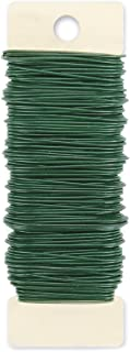 Darice Paddle Wire 20 Gauge 110 Feet-Green