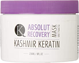 Kashmir Keratin Absolute Recovery Treatment Mask Sulfate And Paraben Free For Very Damaged Hair (8 Fl. Oz)