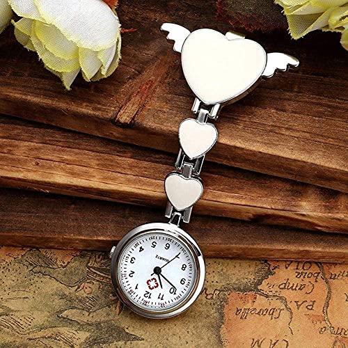 Reloj Colgante de Cuarzo Reloj de Cadena de Enfermera Reloj de Enfermera Mesa Colgante de Mesa de Enfermera Tabla de Clip de alfabeto-02