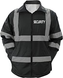 HIGH Visibility Raincoat with Reflective Stripes