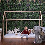 Estructura cama Casa 90x 200 cm (sin pintura) CHILDHOME