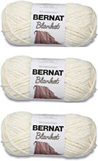 Bernat 161200-6 Blanket Yarn - Vintage White