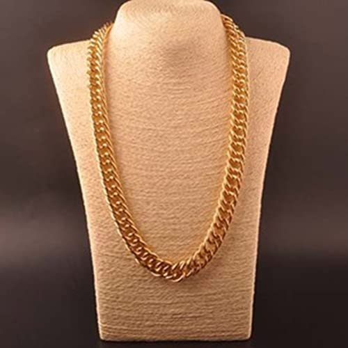 OULII Hip Hop Necklace Rapper Necklace 60cm Gothic Hip Hop Chunky Chain for  Men Women Jewelry 2c19468514