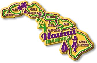Premium State Map Magnet - Hawaii