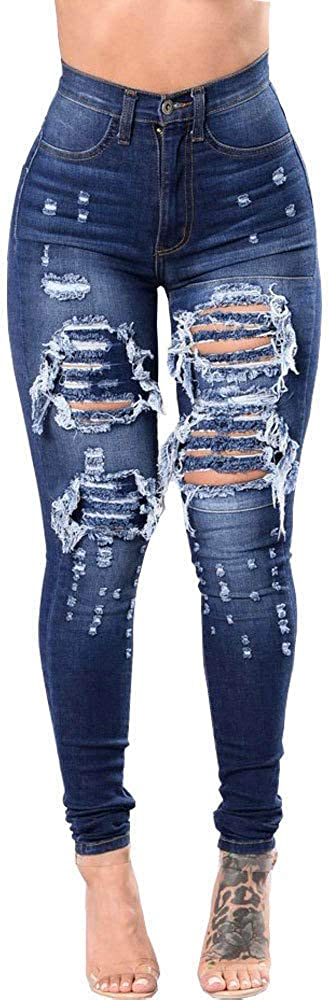 BETTERUU 2020 Weekly update Women's Stretchy Button High Fly Mid OFFicial Waisted Skinn