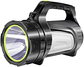 XIAONINGMENG-A Flashlight, Double Side Light LED3500 Lumen Flashlight Charging Super Bright Multi-Function Portable Search...