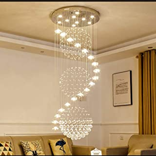 Beautifully Decorated Lamps/LED Modern K9 Crystal Luxurious Chandelier Candle Pendant Lamp Ceiling Living Room Lighting fo...
