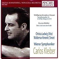 Carlos Kleiber Conducts Mozart: Symphony 33 & Mahler: Das Lied von der Erde / Kleiber