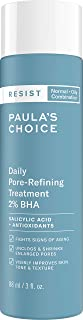 Paula's Choice RESIST Daily Pore-Refining Treatment 2% BHA with Salicylic & Hyaluronic Acid, Blackheads & Large Pore Exfoliant, Oily Skin, 3 Ounce