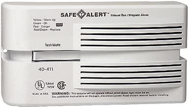 Safe-T-Alert Propane Natural Gas Alarm Monitor, 40-411, 120V
