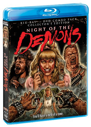 Night Of The Demons (Collector's Edition) [BluRay/DVD Combo] [Blu-ray] [Importado]