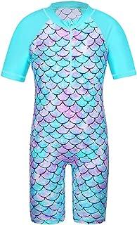 TFJH E Girls Swimsuit 3-10 Years UPF 50+ UV One Piece