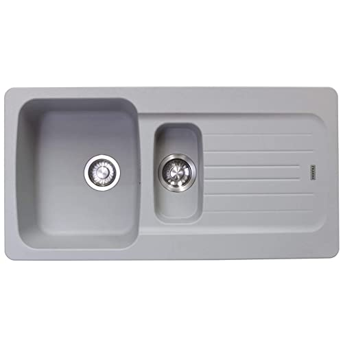 Brilliant Grey Kitchen Sink Amazon Co Uk Beutiful Home Inspiration Aditmahrainfo