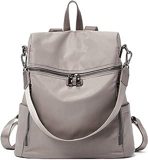 Women Backpack Purse Nylon Fashion Covertible Travel Large Designer Ladies Shoulder Bag