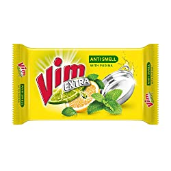Vim Dishwash Anti Smell Bar Pudina 200 g (Pack of 3)