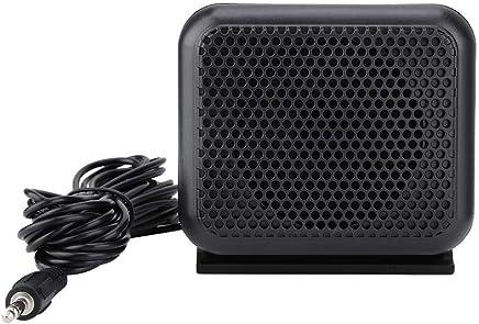 Oumij Mini Altoparlante Esterno NSP-100 Microfono Radio Portatile per Kenwood Yaesu ICOM Ham Radio per Auto, Mini e Compatto, con Altoparlante da 3 w, Stereo e Rumoroso - Trova i prezzi più bassi