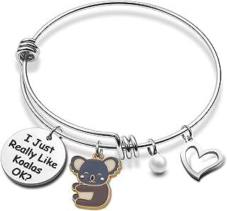 Koala Cute Bracelet I Just Really Like Koalas OK Koala Jewelry Gifts for Koala Fans Girl