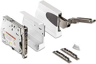 Blum AVENTOS HK zijdeachtig wit Klepbeslag Compleet set incl. fronthouder en afdekkingen LF 750-2500 (20K2500)