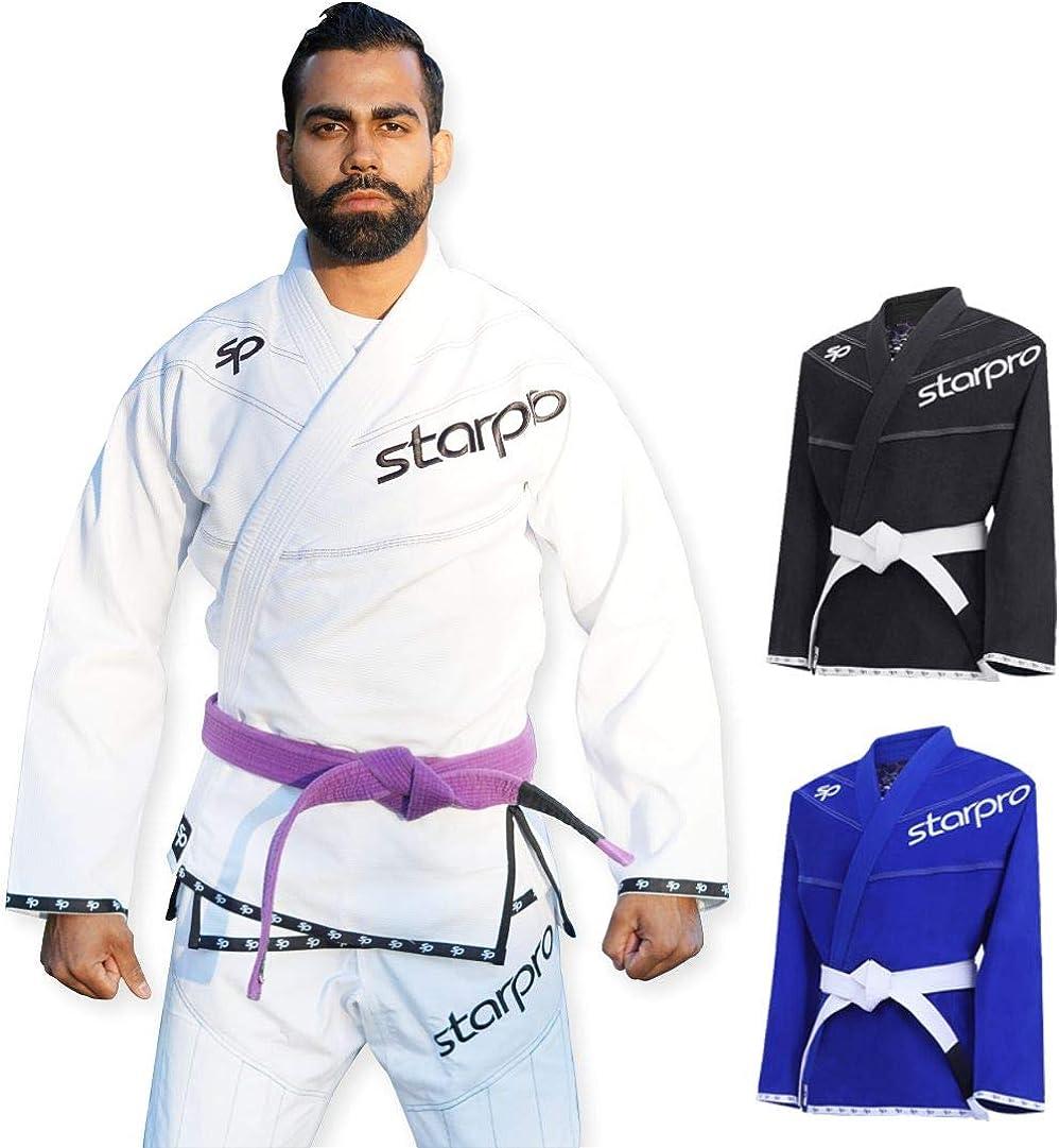 Starpro Premium Preshrunk Jiu Wholesale Jitsu Many Size Gi BJJ Year-end annual account Men