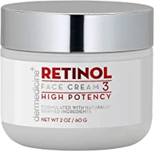 Retinol Cream For Face & Eye 3% Blend | Natural Anti Aging w/Jojoba Oil, Apricot Oil, Hyaluronic Acid & Squalane | Helps S...