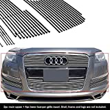 Compatible with 2007-2015 Audi Q7 Billet Grille Combo N19-A50876B
