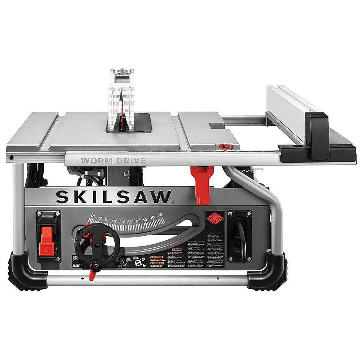 若者リフト確実SKILSAW 木工用テーブルソー SPT70WT-22 Portable Worm Drive Table Saw With Diablo Blade [並行輸入品]
