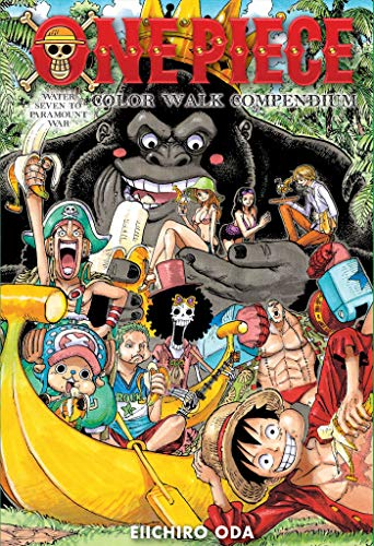 One Piece Color Walk Compendium: Water Seven to Paramount War