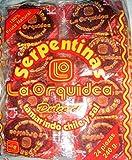Serpentinas Dulce Tamarindo Chile Y Sal Tamarind Caramelos mexicanos 24 piezas