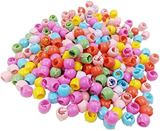 GBSTORE 50 قطعة مشابك شعر صغيرة للنساء الفتيات لطيف حلوى الألوان البلاستيك دبابيس الشعر صانع الخرز أغطية الرأس ملحقات الشعر