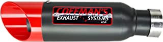 Coffman's Shorty Exhaust Slip On Muffler for Honda CB300F CBR300R CBR 300 (2015-2019) Sportbike with Red Tip