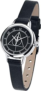 HARRY POTTER Deathly Hallows Mujer Relojes Negro,