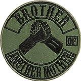 Divertido parche moral: Brother of Another Mother Mother Parche, imagen de...