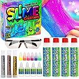 Ucradle Slime Kit Fai da Te, DIY Fabbrica Slime per la Preparazione Fai da Te di melma Giocattolo, Slime Kit Decorazioni Giocattoli Ideali per Bambini - Kit di Slime per Bambine e Ragazzi