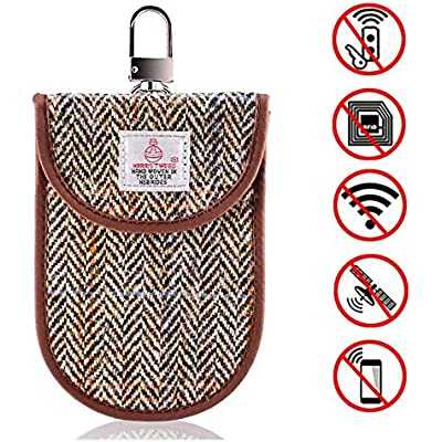 2 x Card Signal Blocker MONOJOY Faraday Bag for Car Keys RFID Signal Blocking Pouch| Car Key Signal Blocker Pouch Case Blocks RFID//WIFI////NFC