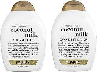 Organix Nourishing Coconut Milk Shampoo + Conditioner (combo Pack), 13 Ounce